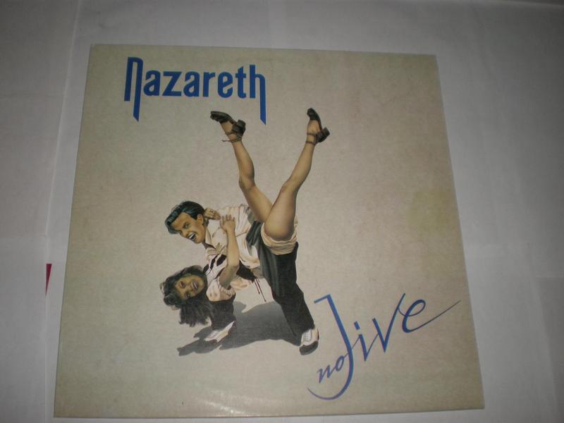 Nazareth – No Jive Alien Records Vinyl, LP, Album,