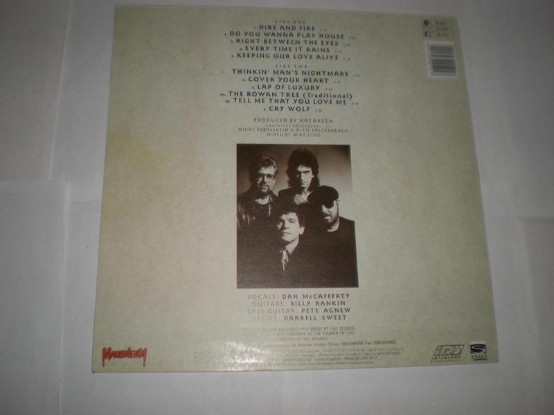 Nazareth – No Jive Alien Records Vinyl, LP, Album, - Фото 2
