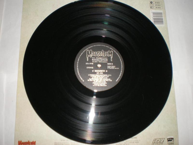 Nazareth – No Jive Alien Records Vinyl, LP, Album, - Фото 3