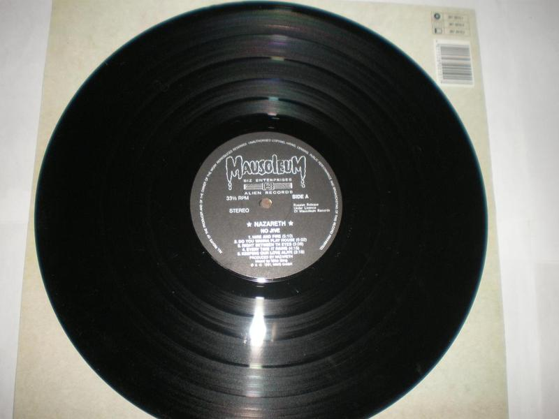 Nazareth – No Jive Alien Records Vinyl, LP, Album, - Фото 4