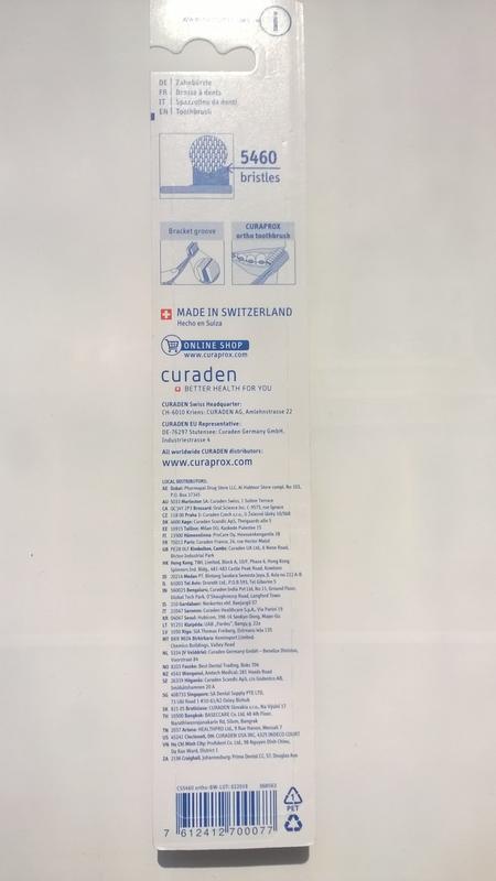 Curaprox CS 5460_Ручная зубная щетка_Ortho ultra soft - Фото 2