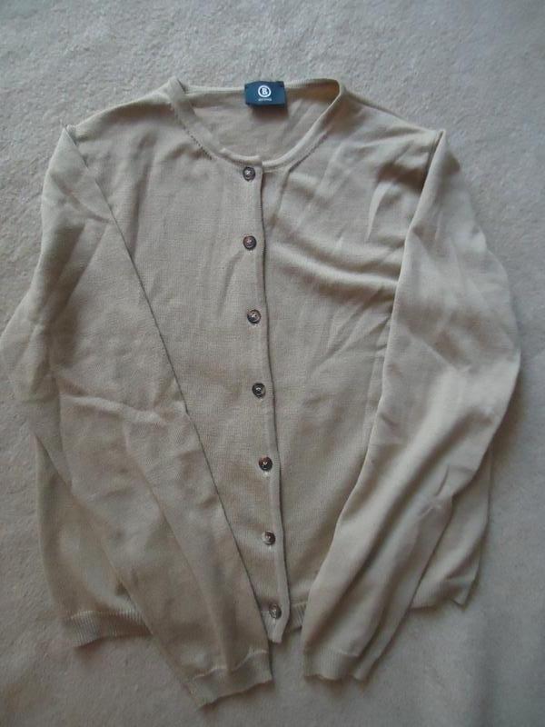 Фирменная кофта свитер на пуговицах, 100% шерсть