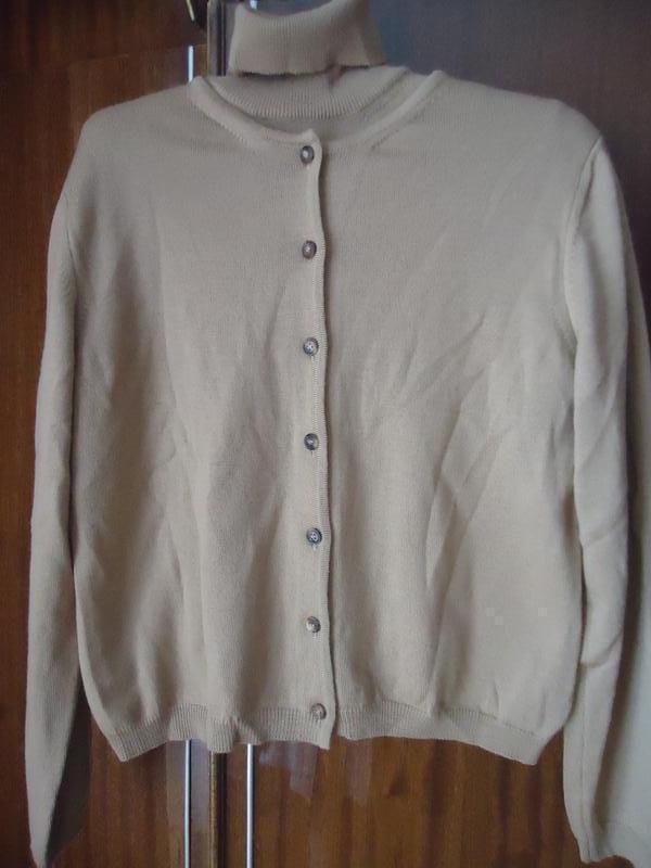 Роскошная шерстяная двойка (комплект) свитер+кардиган оригинал