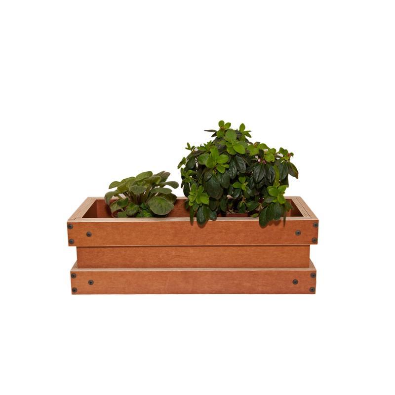 Ящики для цветов (вазон, горшок, кашпо) из ламинированной фанеры - Фото 3