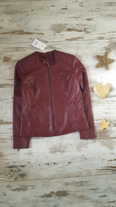 Косуха деми куртка эко кожа