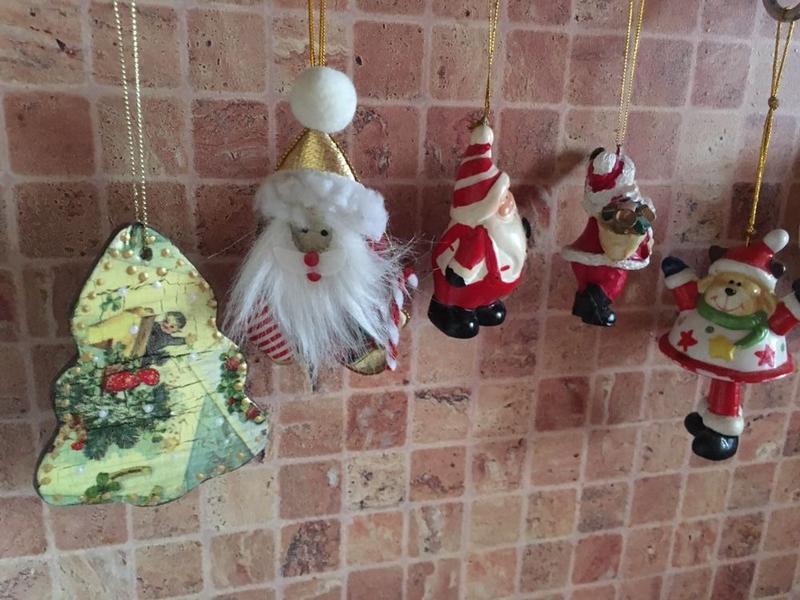Набор новогодних, подвесных фигурок - Фото 8