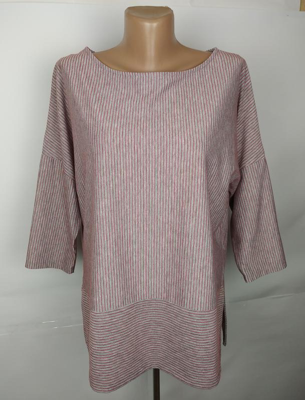 Блуза кофточка трикотажная красивая в полоску marks&spencer uk...
