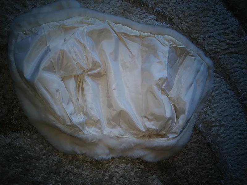 Полушубок свадебный 50-52 р болеро - Фото 2