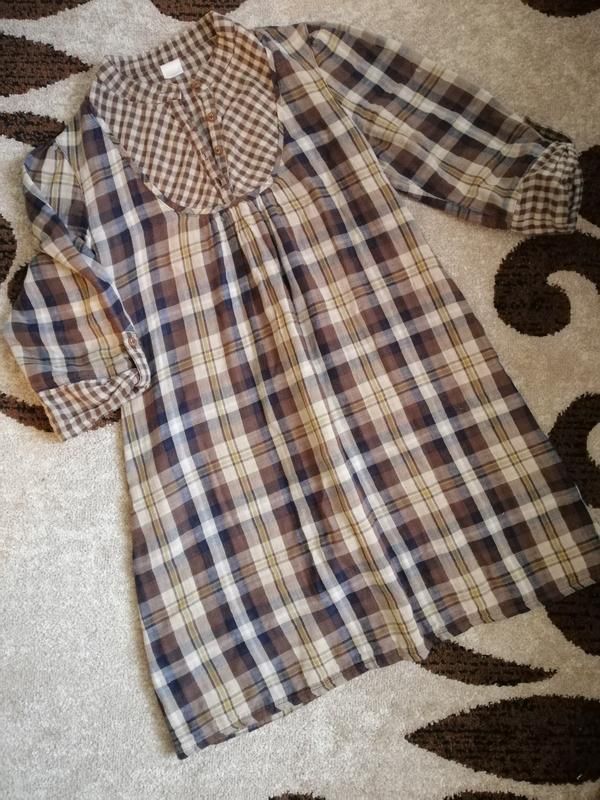 Платье рубашка туника