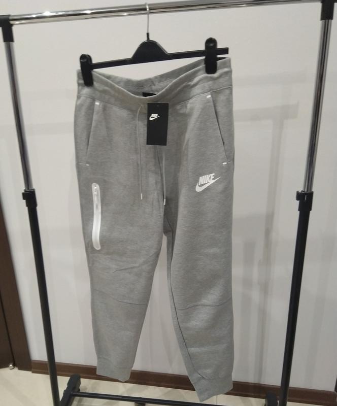 Новые спортивные штаны nike tech fleece премиум линия оригинал... - Фото 3