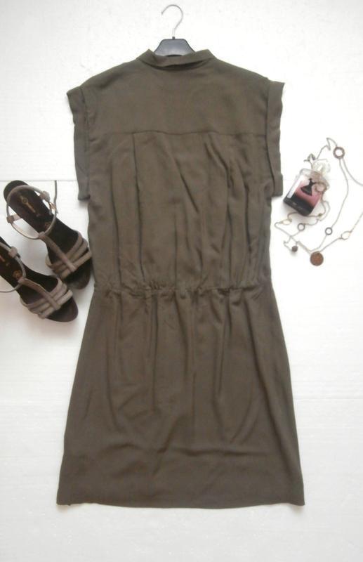 Красивое платье из натуральной ткани - Фото 3