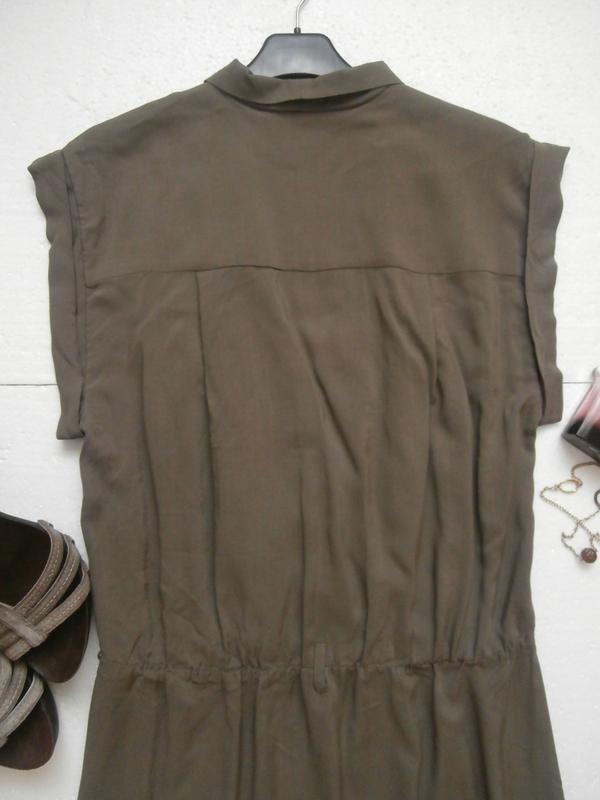 Красивое платье из натуральной ткани - Фото 4