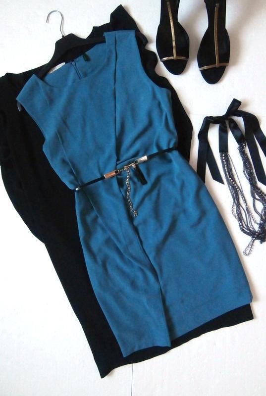 Интересное платье-футляр