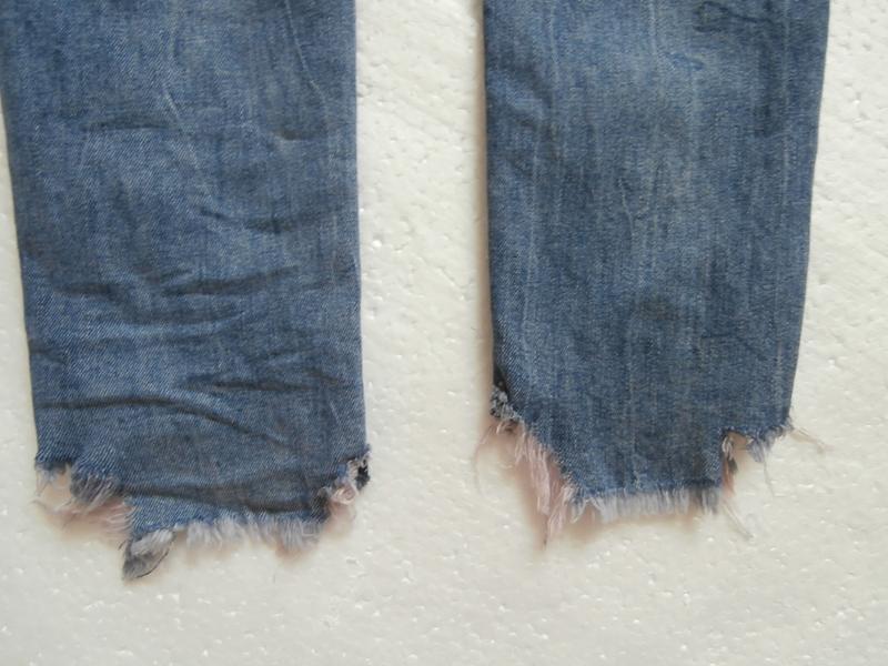 Изумительные джинсы zara с вышивкой - Фото 10