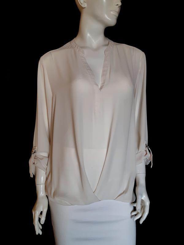 Стильная блузка с длинным рукавом F&F, XXL