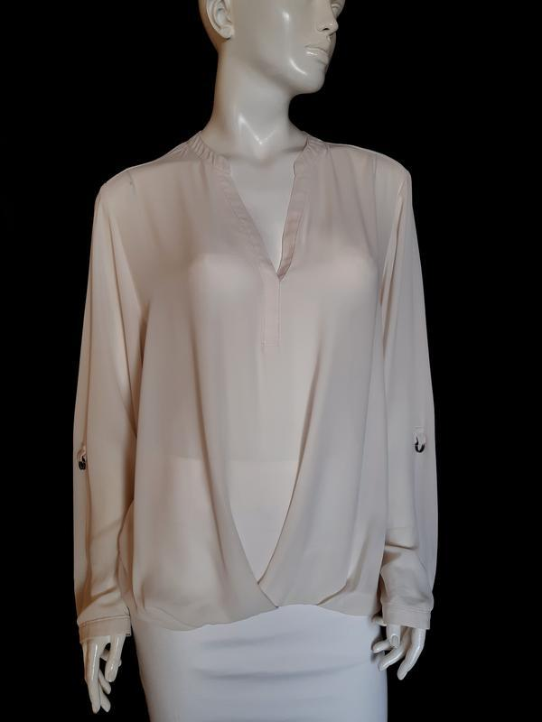 Стильная блузка с длинным рукавом F&F, XXL - Фото 2