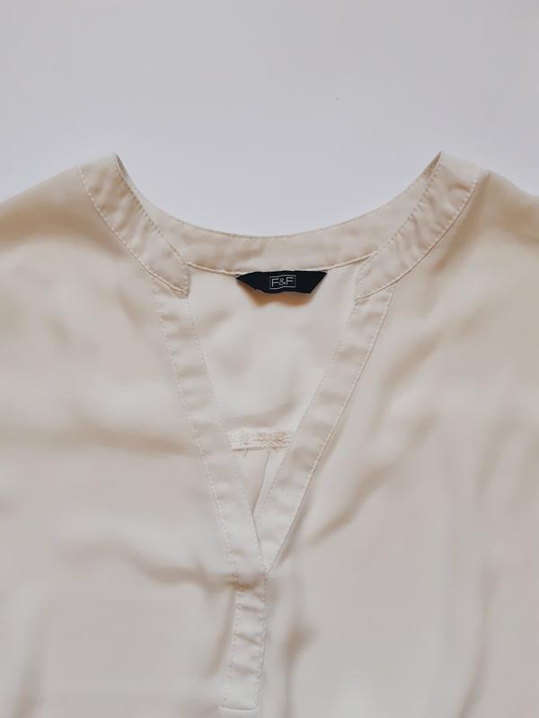 Стильная блузка с длинным рукавом F&F, XXL - Фото 5