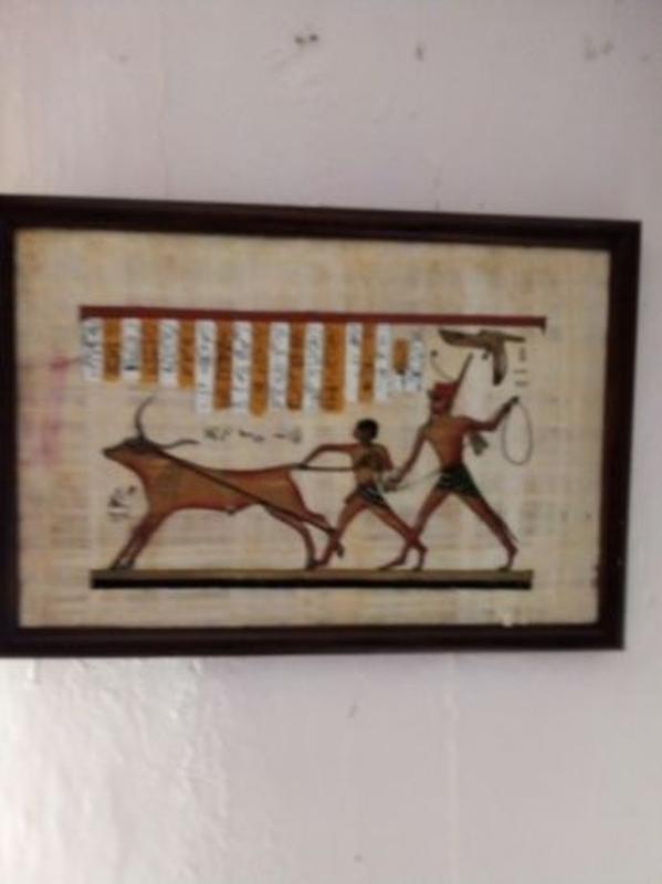 Продам картину на папирусе