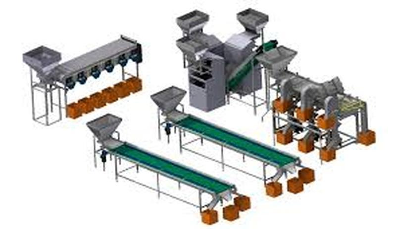 Оборудование для переработки грецких орехов