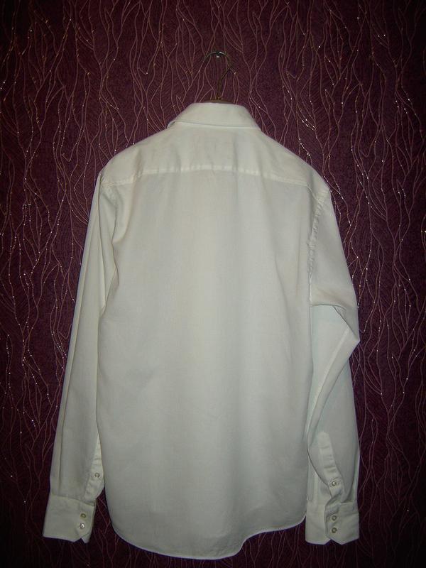 Белая рубашка hugo boss разм.м - Фото 2