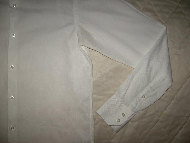 Белая рубашка hugo boss разм.м - Фото 5