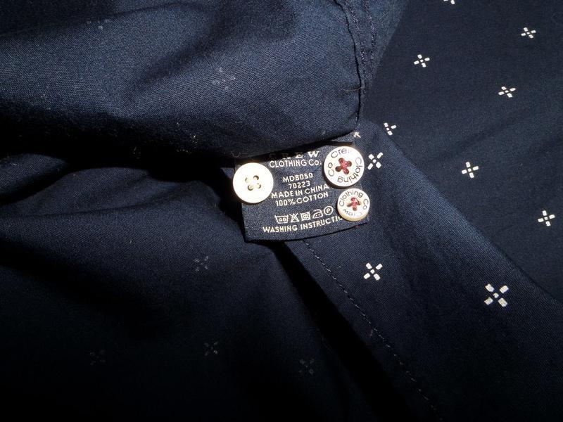 Рубашка crew clothing разм.l - Фото 4