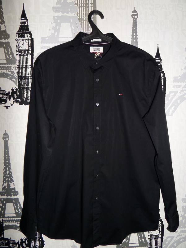 Рубашка tommy hilfiger разм.xxl (новая)