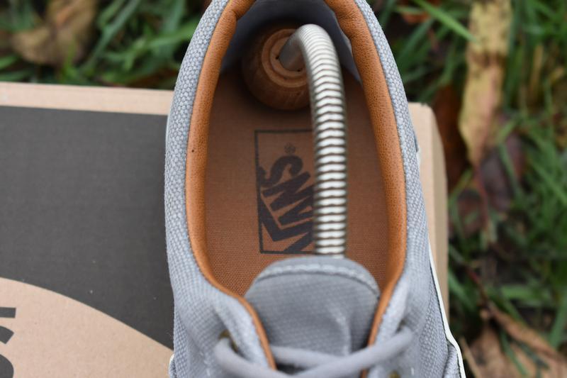 Vans мужские кеды серые с кожаными вставками размер 43 - Фото 8