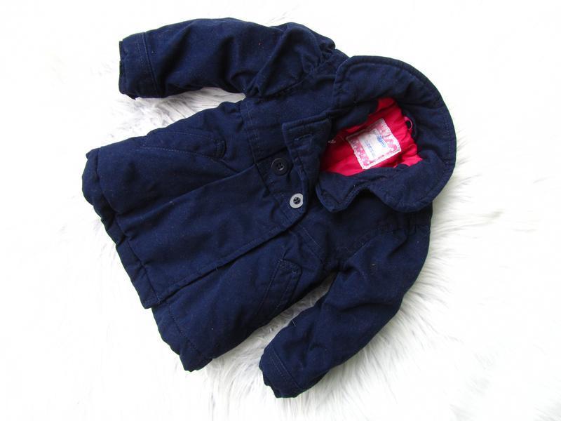 Стильная теплая куртка пальто hema