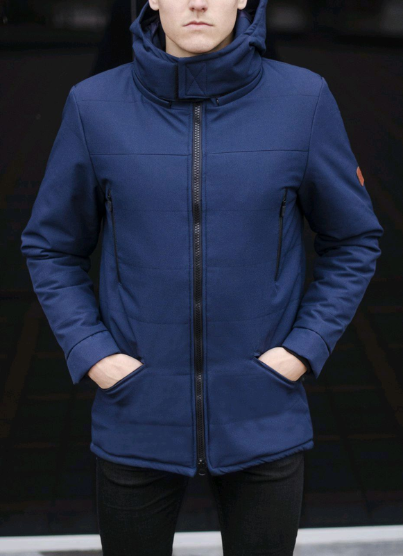 Мужская зимняя курточка парка очень теплая - Фото 4