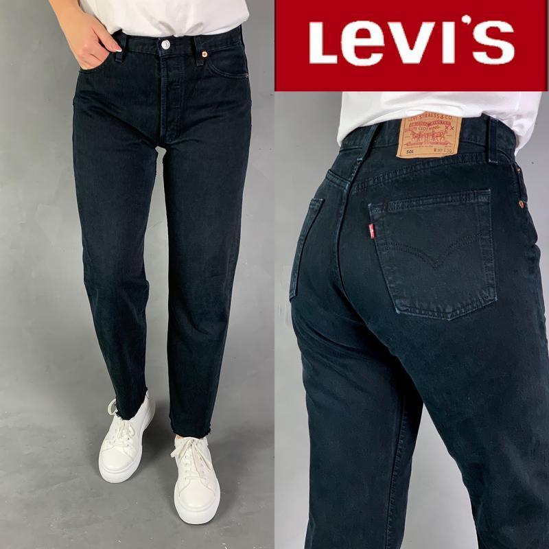 Джинсы момы бойфренды  высокая посадка mom мом jeans levi's 501.