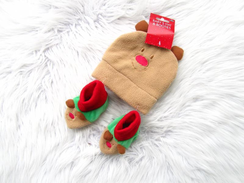 Стильная комплект пинетки и  шапка baby's hat & booties