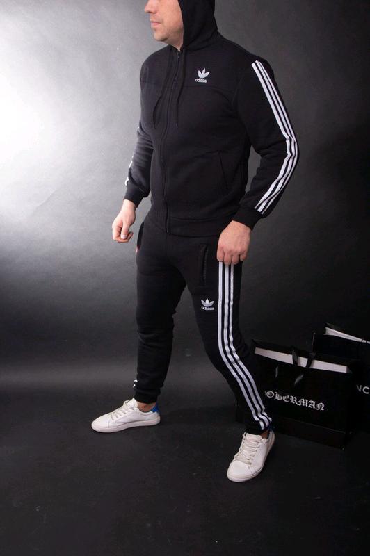 Спортивный костюм утеплённый Adidas - Фото 3