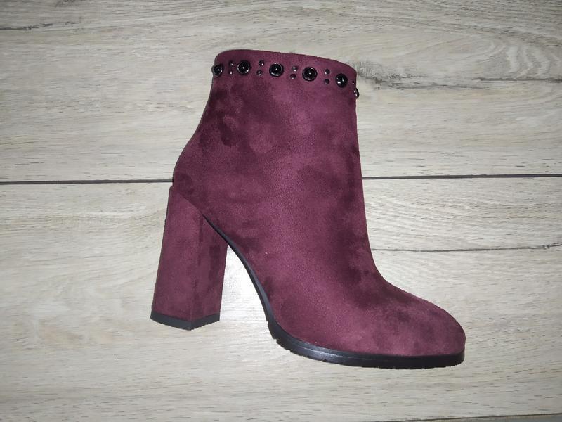 Ботинки зимние женские ботильоны жіночі полуботинки зима