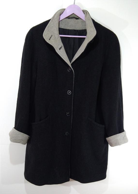 Пальто женское кашемировое весна - осень размер 40