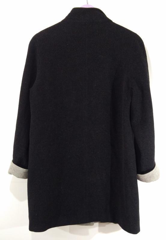 Пальто женское кашемировое весна - осень размер 40 - Фото 4