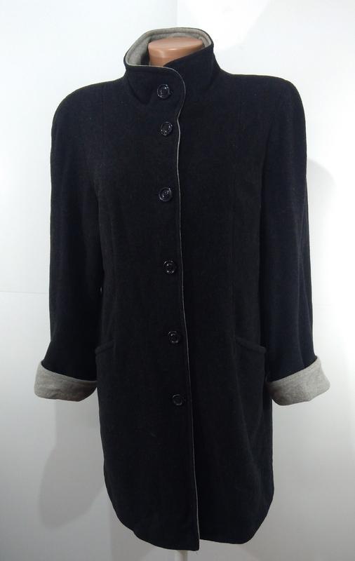 Пальто женское кашемировое весна - осень размер 40 - Фото 5