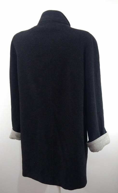 Пальто женское кашемировое весна - осень размер 40 - Фото 9