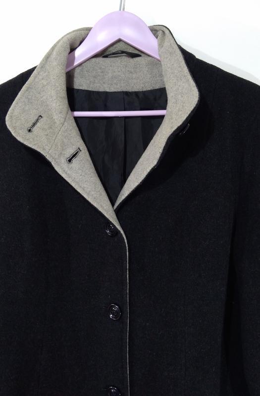 Пальто женское кашемировое весна - осень размер 40 - Фото 10
