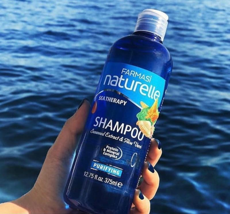 Шампунь для всех типов волос сила моря farmasi seaterapy shampoo - Фото 3
