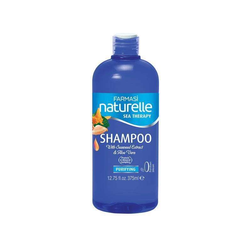 Шампунь для всех типов волос сила моря farmasi seaterapy shampoo