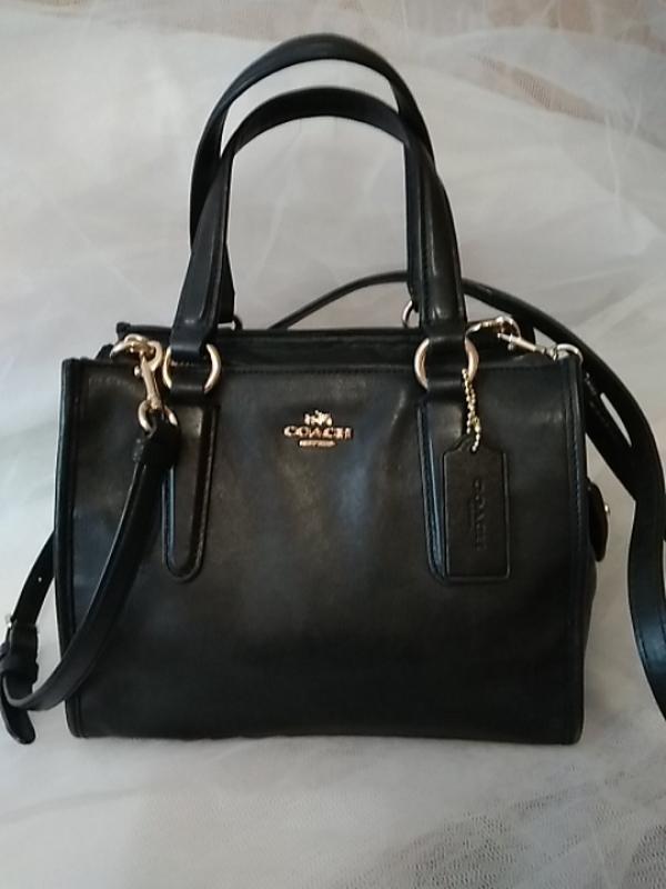 Coach сумка натуральная кожа оригинал! pro
