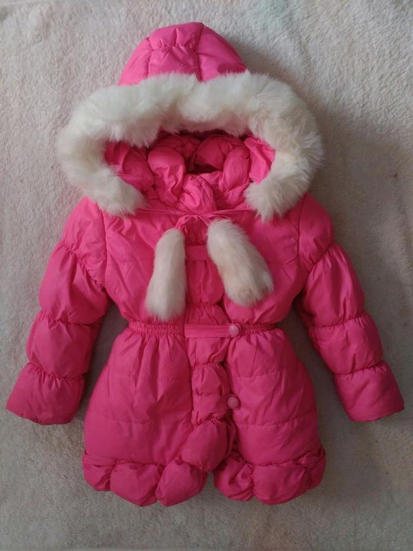 Зимняя теплая курточка на 4\ 5 лет,на рост 110 см