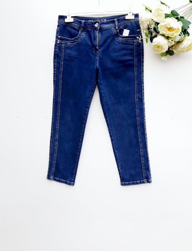 Стильные джинсы штаны укороченые джинсы брюки