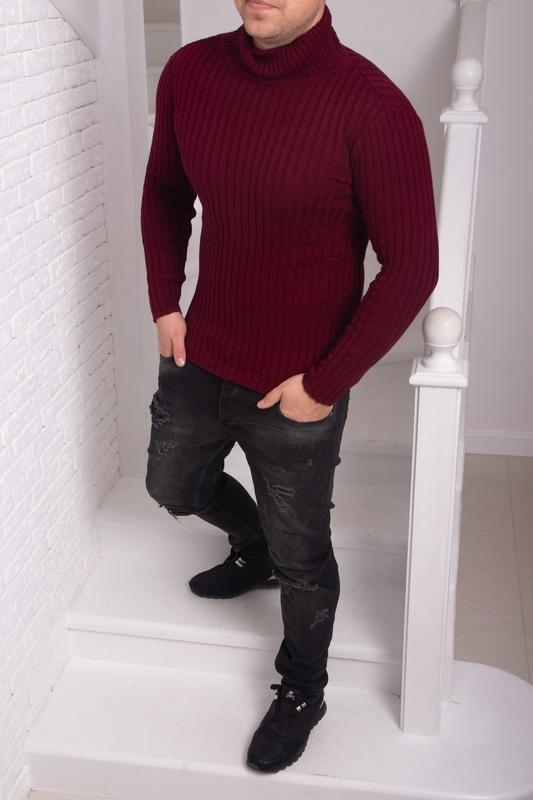 Зимний свитер (гольф)