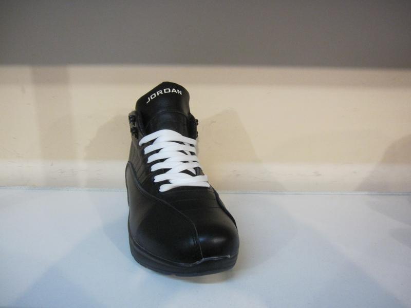 Мужские кожаные зимние ботинки/кроссовки - Фото 2