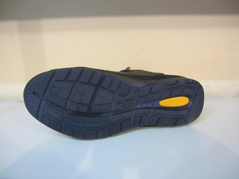 Мужские кожаные зимние ботинки/кроссовки - Фото 4