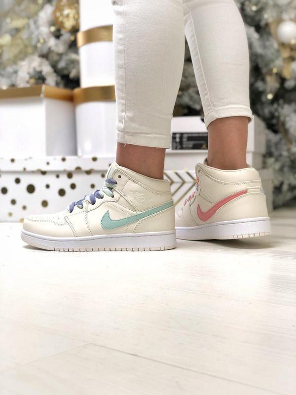 Шикарные женские кроссовки nike air force high 😍 (демисезонные)