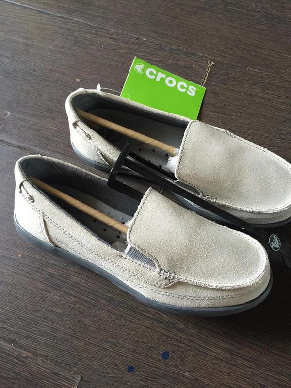 Лоферы crocs.верх нат.кожа - Фото 2