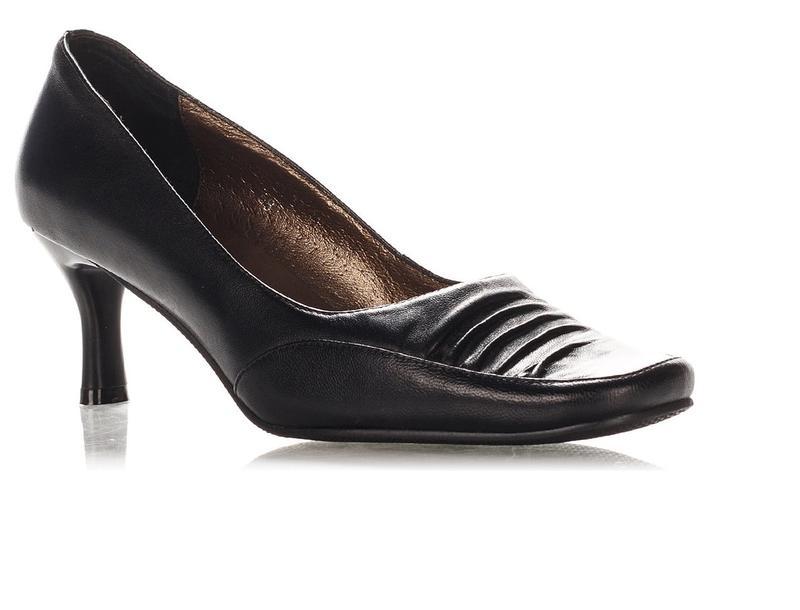 Туфли черные 37 р-р